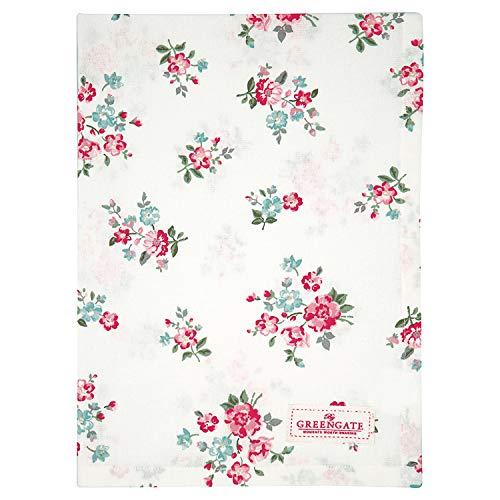 GreenGate Tea Towel Sonia White