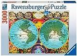 Ravensburger- Antico Mappamondo Puzzle da Adulti, Multicolore, 3000 Pezzi, 17074 6...
