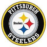 Pittsburgh City Steelerzzz Football Die-Cut Sticker Decal 5'' X 5''