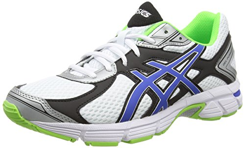 ASICS Gel-Pursuit 2, Zapatillas de Running para Hombre, Blanco (White/Blue/Flash Green 142), 47 EU