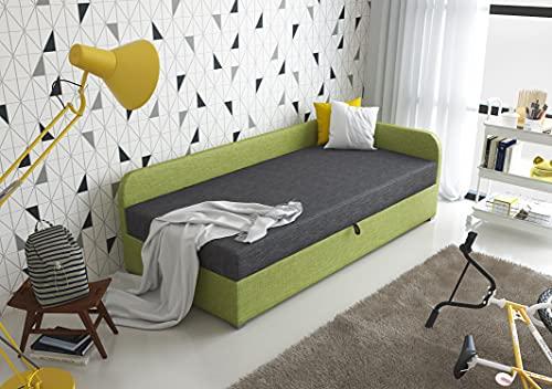 3xEliving Das Bett MUSI 90x200cm in der...