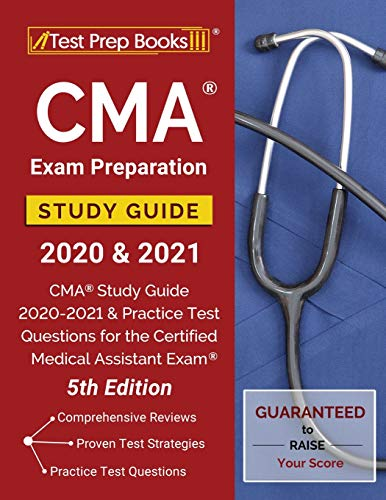 CMA Exam Preparation Study Guide 2020 and 2021: CMA Study Guide 2020-2021 and Practice Test Question