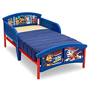 crib bedding and baby bedding delta children plastic toddler bed, nick jr. paw patrol