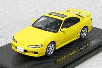 Model Car Ebbro 1/43 NISSAN SILVIA spec-R S15 1999 (Yellow) Japanese Model Cars