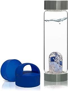 VitaJuwel Gem Water Bottle ViA - Balance w/Exclusive Blue Loop