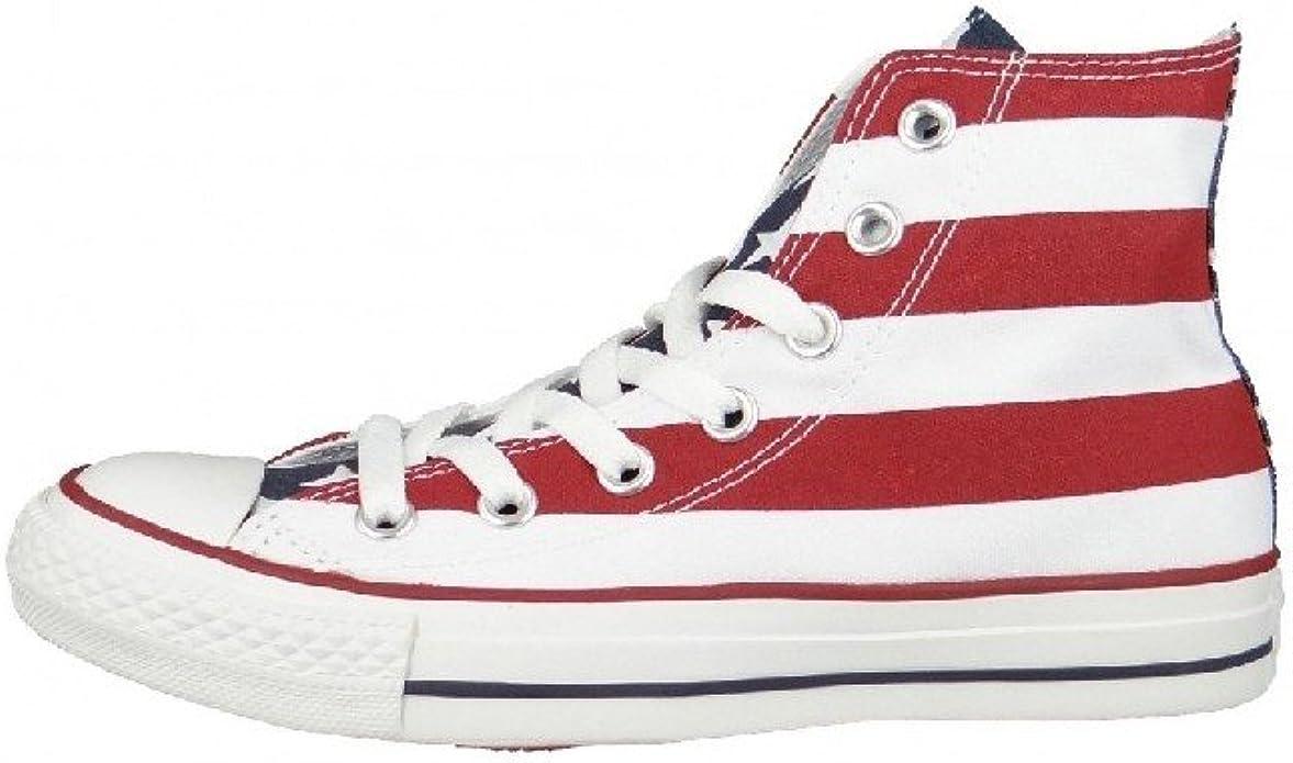 Converse Womens Chuck Taylor Stars and Bars Sneaker