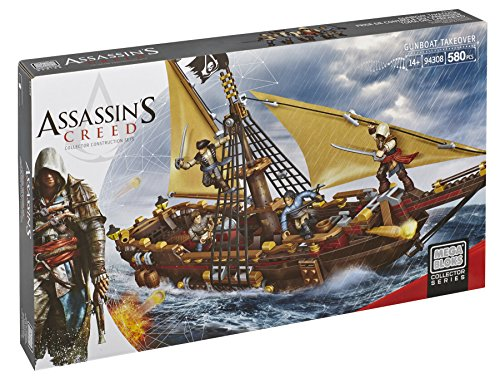 Assassin Creed: Lancha cañonera  Mega Bloks