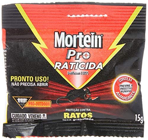 Mortein Pro Raticida, Iscas Granulada Para Mata Ratos, 15 g