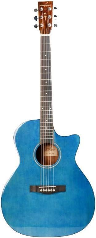 Yamyannie Guitarra Cara De Luz Individual Picea De La ...