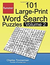 Funster 101 Large-Print Word Search Puzzles, Volume 2: Word search book for adults PDF