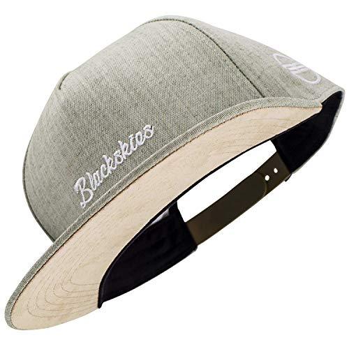 Blackskies EOS Vol. IV Snapback Cap | Jeans Grün Schirm Unisex Premium Baseball Mütze Kappe Denim Basecap Stick