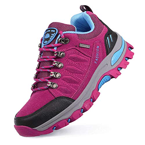LSGEGO Unisexe Chaussures de randonnée en Plein air Bottes de randonnée Voyages décontractés Marche Bottes...