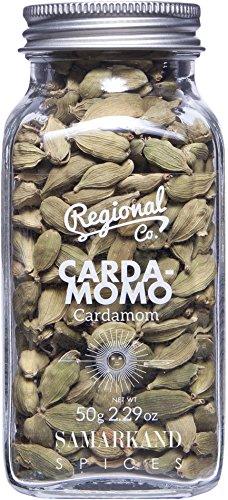 Cardamomo - Baccelli di Cardamomo Verdi Qualità Premium 50 g