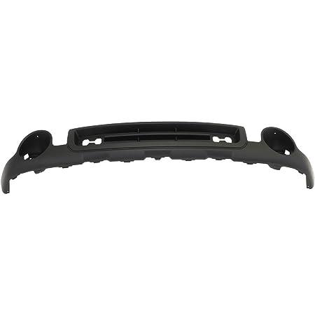 Titanium Plus Autoparts 2007-2013 Compatible With GMC Sierra 1500 Front Bumper Cover GM1015100 Texture Black