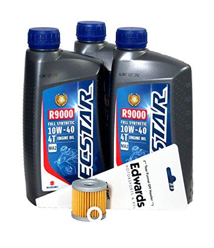 Suzuki 2012 LT-Z400 Full Synthetic Oil Change Kit