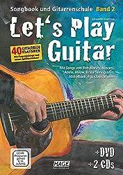 Let\'s Play Guitar Band 2: Songbook und Gitarrenschule + DVD + 2 CDs. Mit Songs von Bob Marley, Nirvana, Adele, Milow, Bruce Springsteen, Nickelback, Jason Mraz uvm.
