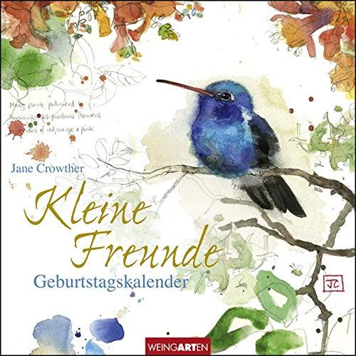 Jane Crowther - Geburtstagskalender Kleine Freunde 20x20cm