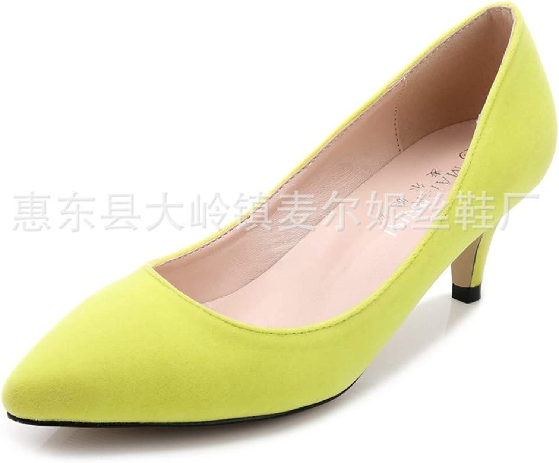 GGXN Single shoes Stiletto Versatile high Heels Pointed Shallow Mouth Set Foot Elegant Women's shoes