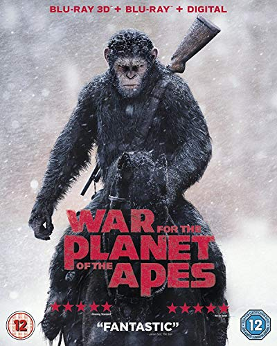 War For The Planet Of The Apes 3D BD [Blu-ray] [2017]