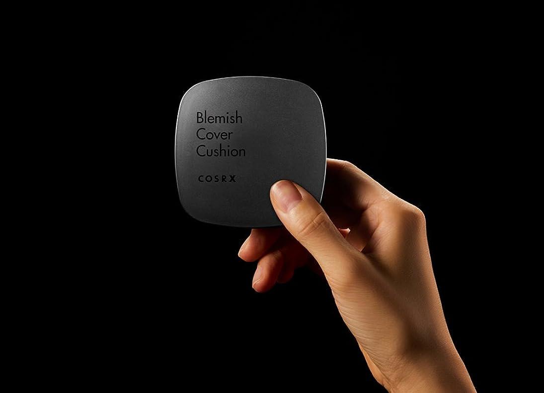 悪化するアリス思想[ RENEWAL!! ] COSRX Clear Cover Blemish Cushion 15g/COSRX クリアカバー ブレミッシュ クッション 15g (#21 bright) [並行輸入品]