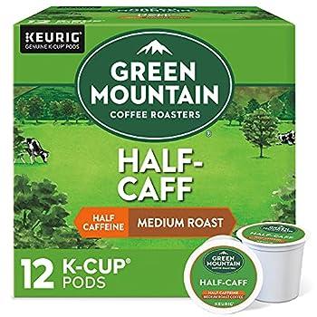 Green Mountain Coffee Half-Caff Keurig K-Cups Coffee 12 ct
