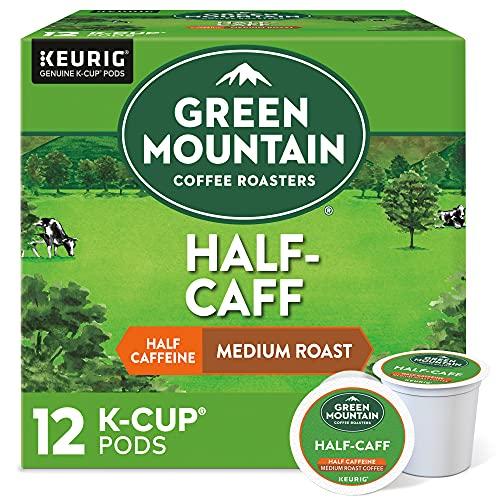 Green Mountain Coffee Half-Caff Keurig K-Cups Coffee, 12 ct