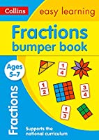 Fractions Bumper Book Ages 5-7: Ideal for Home Learning (Collins Easy Learning KS1)