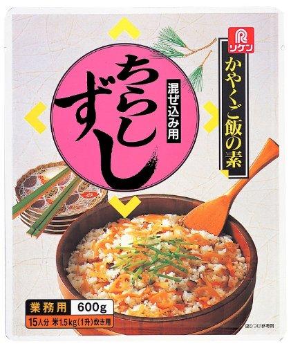 リケン かやくご飯の素 混ぜ込み用 ちらしずし 600g