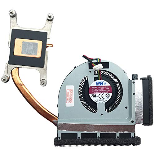 (Version 2) Fan Cooler with Heatsink Compatible for Lenovo ThinkPad T520 (4241), T520i (4239), T520i (4240), T520 (4242), T520i (4241), T520i (4242)