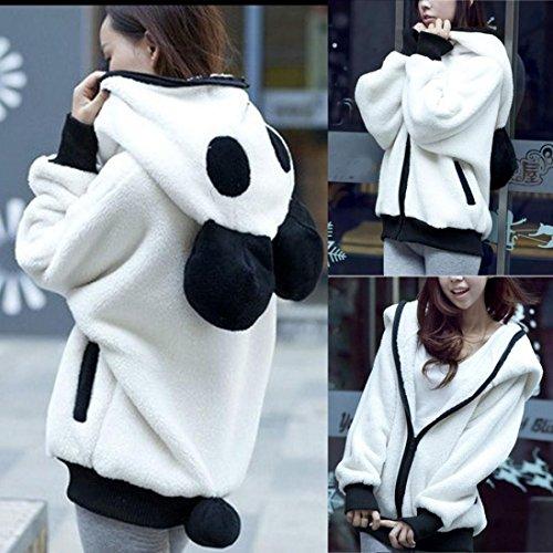 taschen Fleece jacket mit B/ärenohren und
