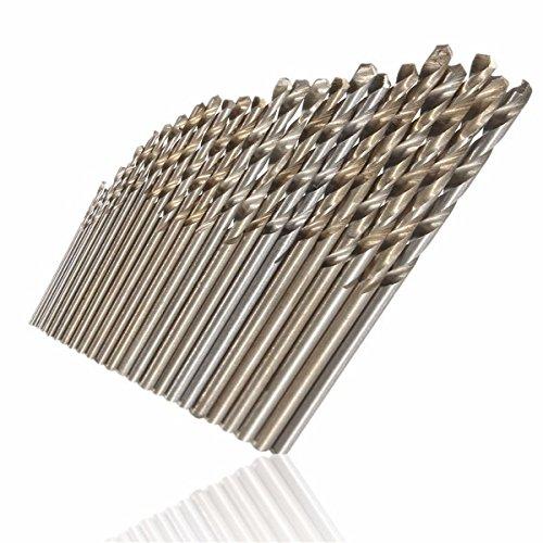 EsportsMJJ 10 Stks Hss rechte schacht Twist Boor Set 0.4Mm-2.7Mm hoge snelheid staal Boor Bits