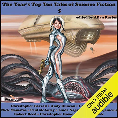 The Year's Top-Ten Tales of Science Fiction 5 cover art