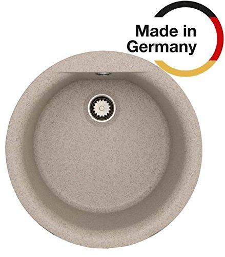 Rieber E 39 Riegranit Farbe: sierra Küchenspüle MADE IN GERMANY ø 435 mm 3,5
