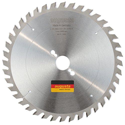 Augusta 052503040–Robusto multiusos metal de sierra circular 250x 3, 0x 30con 40dientes...