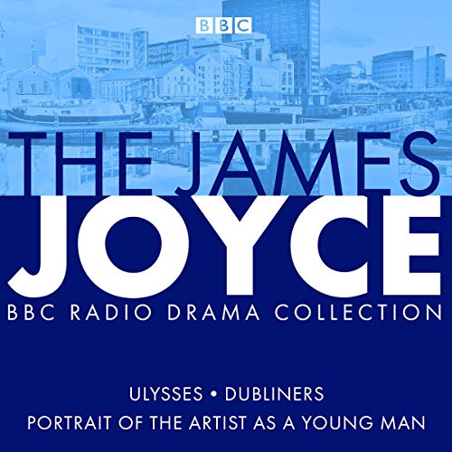 The James Joyce BBC Radio Collection audiobook cover art