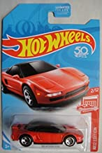 HOT WHEELS RED EDITION 2/12 EXCLUSIVE, RED '90 ACURA NSX 50TH ANNIVERSARY