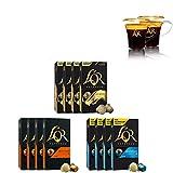 L'OR Espresso Café de Variación de Pascua - Cápsulas de aluminio compatibles con cafeteras Nespresso* - 12 paquetes de 10 cápsulas (120 bebidas + 2 Tazas de Lungo)