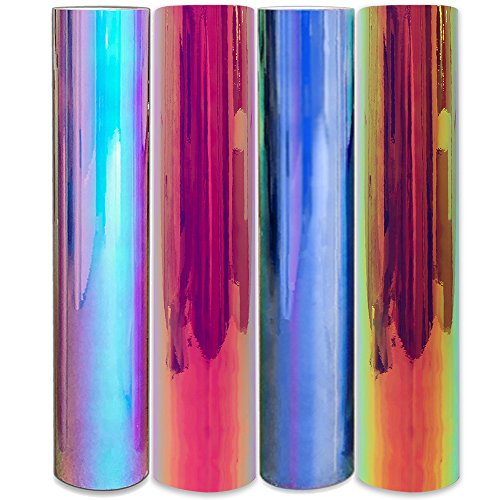 Styletech SO Opal Vinyl, Blue, Pink, White, and Yellow 4 Piece