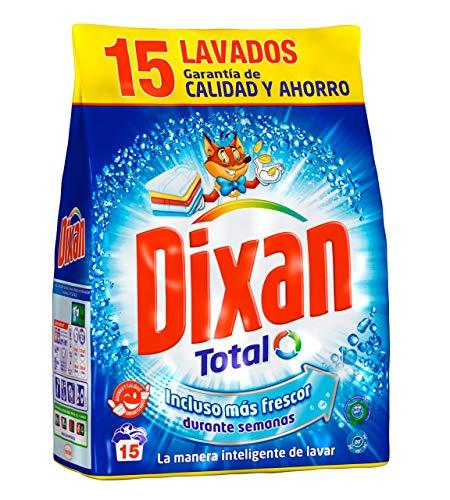 Dixan Detergente Polvo Total para Lavadora - 15 Lavados (0.795 kg)