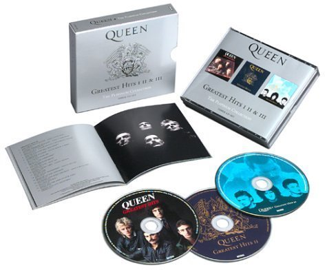 Greatest Hits I, II & III - The Platinum Collection (3CD) by Queen Box set, Original recording remastered edition (2002) Audio CD