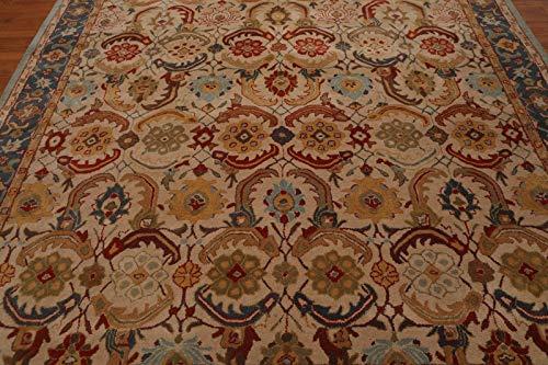 Persian Designs Antigua Alfombra Hecha a Mano de Lana Beige Nain Tradicional Persa Oriental de Zieglar ((244x305) cm)