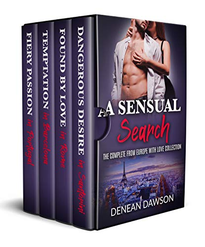 A Sensual Search: The Complete From Europe With Love Collection (A Contemporary Romance Series Box Set) (English Edition)