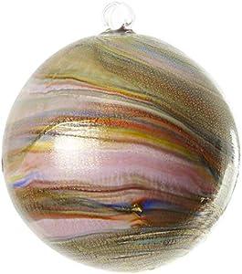 Bola de Navidad morada - Twisted Fantasy - Cristal de Murano Navidad
