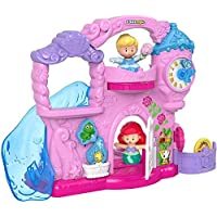 Fisher-Price Little People Disney Princess Play Go Castle Portable Playset