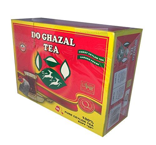 Do Ghazal Tee- als Loser Tee und Beutel-Tee, in Schwarztee, Grünertee und Kräutertee (Ceylon, 100 Beutel)