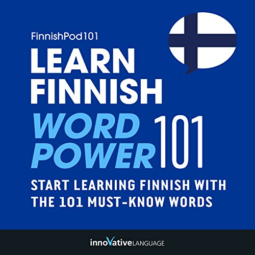 Learn Finnish - Word Power 101 audiobook cover art