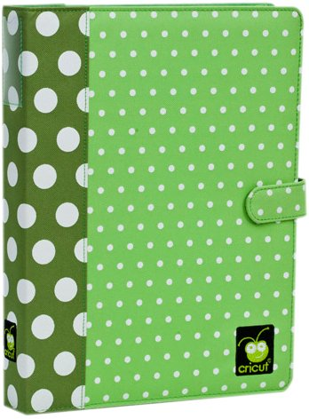 Cricut Cartridge Storage Binder, Green