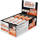 PhD Smart Bar, High Protein Low sugar chocolate coated snack (Mississippi Mud Pie), 12 Bars