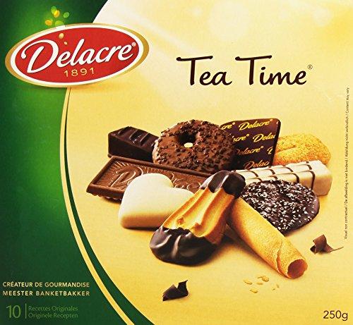 Delacre Assortiments de Biscuits Tea Time 250 g