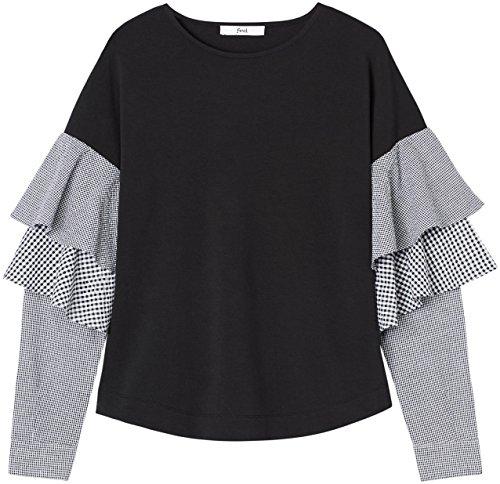 find. ER2466 magliette donna, Nero (Black), 42 (Taglia Produttore: Small)